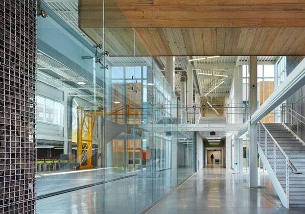 Swenson Civil Engineering Building - Ross Barney Architects y SJA Architects